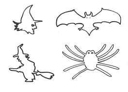 imagenes de halloween para imprimir y colorear dibujos de halloween para imprimir y recortar
