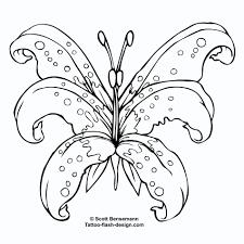 tattoo design butterfly lily stencil outline u2013 flash tattoo u0027s