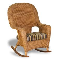 Padding For Rocking Chair Wicker Glider Rocking Chair Wicker Rocking Chair As Real Exotic