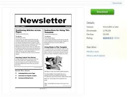templates for word newsletters newsletter templates word practicable imagine ofxrq 56 u for
