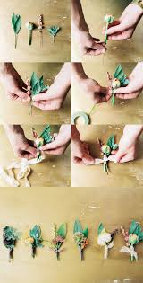how to make boutonnieres diy how to make your own wedding boutonnieres via once wed