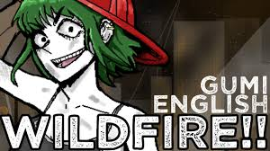 Wildfire Cartoon Youtube by Vocaloid Original Song Wildfire Gumi English The Countdown