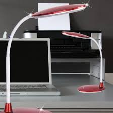 led bureau led bureau verlichting lila kantoor l flex arm bureaul