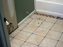 how to install bathroom floor tile how tos diy intended for