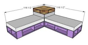 Diy Twin Bed Frame With Storage Twin Storage Bed Plans Bed Plans Diy U0026 Blueprints