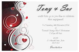 Invitation Cards Templates Free Download Engagement Invitation Card Designs Festival Tech Com