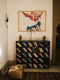 living in a travelling artist house in marrakech at riad jaaneman
