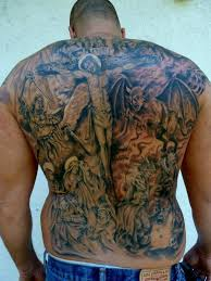 mully tattoo tattoos body part back religous fullback tattoo