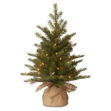 national tree pre lit 3 feel real nordic spruce small artificial