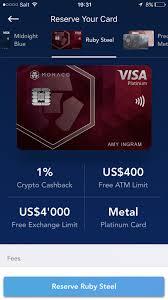free debit card mona co debitcard review best crypto debitcard