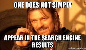 Meme Search Engine - meme appearing in the search engine results chris mendla tech