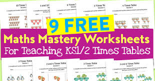 how to teach multiplication tables free maths mastery worksheets for teaching ks1 2 times tables
