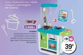 cuisine jouet smoby carrefour promotion cuisine smoby cuisines jouets enfants