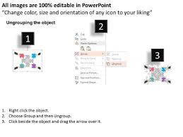 hands puzzle diagram for team strategy powerpoint template