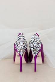 wedding shoes jeweled heels wedding day shoes purple heels rhinestone backs meadowood st