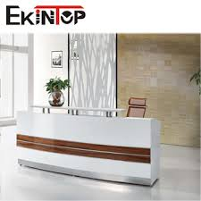 Salon Reception Desk Furniture Foshan Office Furniture Office Counter Design White Salon