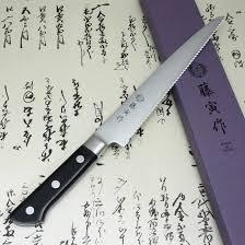 tojiro fujitora japanese kitchen knife bread slicer 3layered vg10