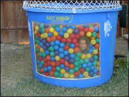 pit rental all around amusements pit dunk tank rental