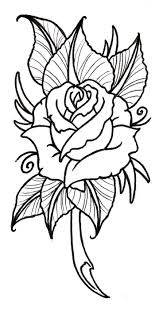 136 best roses to color images on pinterest drawings mandalas