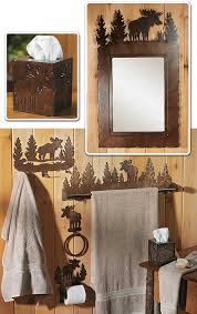 Moose Bathroom Accessories by Bath Accessory Sets Wild Wings