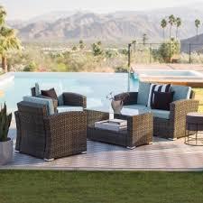 Wicker Outdoor Furniture Sets by Resin Wicker Patio Sets U0026 Conversation Patio Sets Hayneedle