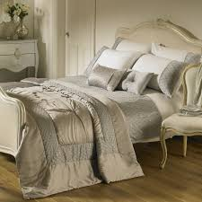 riva home romantica bedding set in silver comforter u2014 home design