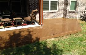 deck wraps around patio in mckinney texas hundt patio covers and