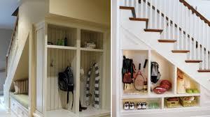100 under stair storage closet space under steps 05 wasted