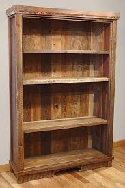 Wooden Shelves Plans by Best 25 Reclaimed Wood Bookcase Ideas On Pinterest Bookshelf