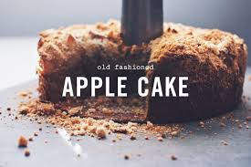 old fashioned apple cake gluten free and dairy free wake the