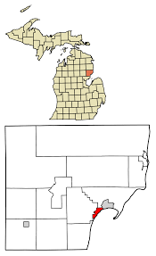List Of Cities Villages And Townships In Michigan Wikipedia by Tawas City Michigan Wikipedia