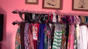 organize your scarves and headbands youtube