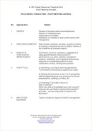 Best Meeting Agenda Template by 11 Staff Meeting Agendaagenda Template Sample Agenda Template Sample