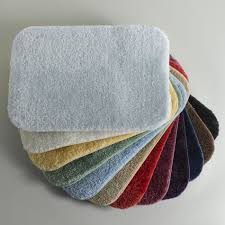 Modern Bathroom Accessories by Bathroom Unusual And Colorful Memory Foam Bath Mats With