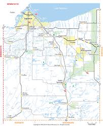 Map Of Wisconsin by Douglas County Wisconsin Map