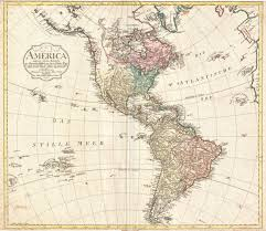 North America Map Labeled by File 1796 Mannert Map Of North America And South America