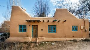 santa fe style house plans a pueblo style solar house in santa fe amazing small house design