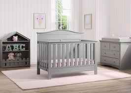 Gray Convertible Cribs by Barrett 4 In 1 Convertible Crib Delta Children U0027s Products