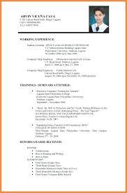 exles of resume for application sle resume for caregiver exle of sles picture