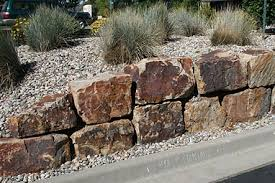 colorado natural landscaping stone and large boulders for