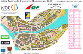 Map Java Woc 2016 Sprint Men August 20th 2016 Orienteering Map From