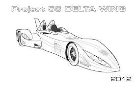 delta wing le mans car coloring car coloring pages