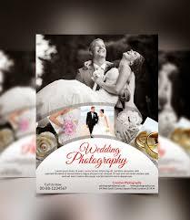 wedding flyer graphicwind wedding photography flyer