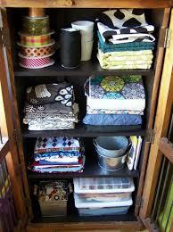 Closet Craft Room - craft room storage cabinet home design ideas