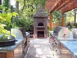 Outdoor Kitchen Pictures Design Ideas Outdoor Kitchen Designs With Pizza Oven Kitchen Decor Design Ideas