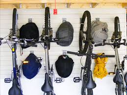bike storage solutions slatwall hooks bicycle wall rack custom
