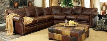 Arizona Leather Sofa by Fantastic Full Grain Leather Sofa With Langston Leather Sofa In