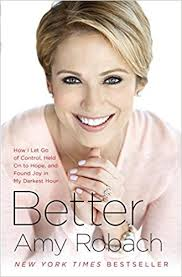 amy robach hairstyle better how i let go of control held on to hope and found joy in