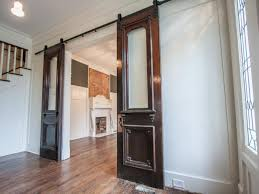 Install Sliding Barn Door by Amazing Sliding Door For Kitchen Entrance How To Install Barn