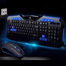 ordinateur de bureau jeux professionnel jeu sans fil clavier souris pour ordinateur portable